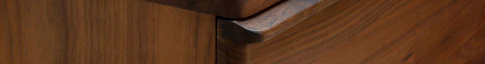Material Details Hemët walnut sideboard