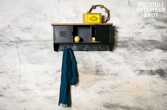 Hester wall coat rack