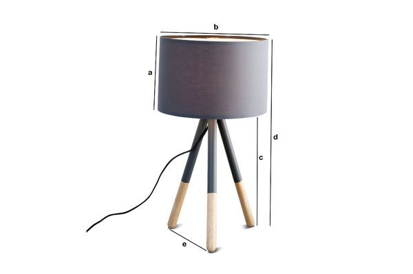 Product Dimensions Highland Table lamp