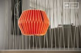 Hippy Red hanging light