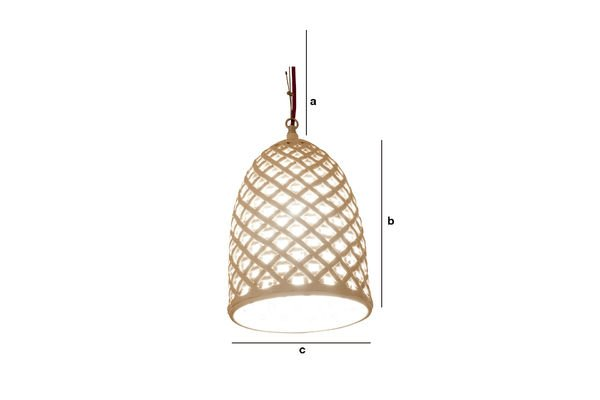 Product Dimensions Hoffen hanging light