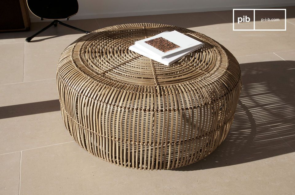 100% rattan, a vintage touch