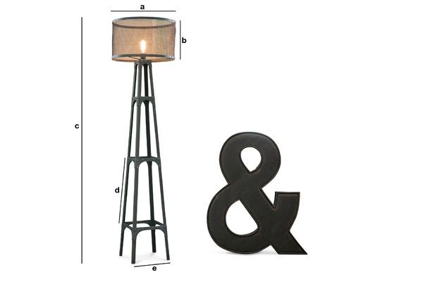 Product Dimensions Hornby floor lamp
