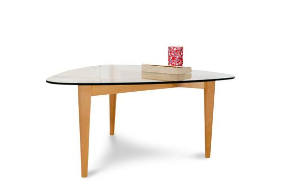 Höti three-legged coffee table Clipped