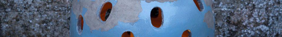 Material Details Ilbarritz lantern