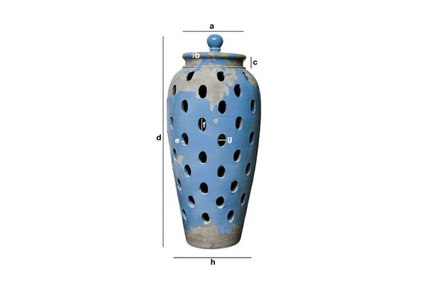 Product Dimensions Ilbarritz lantern jar