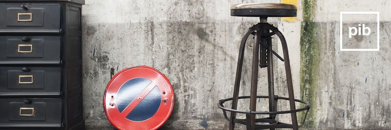 Industrial bar stools back soon in collection