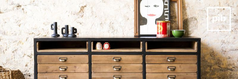 Industrial Chests & sideboards
