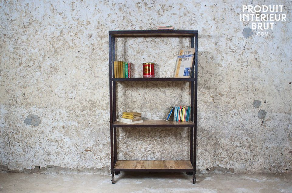This set of shelves will enable you to store all kinds of objects