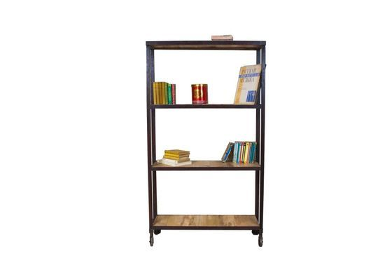 Industrial four-shelf unit Clipped