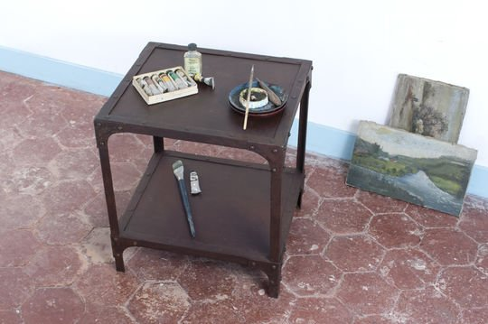 Industrial occasional table