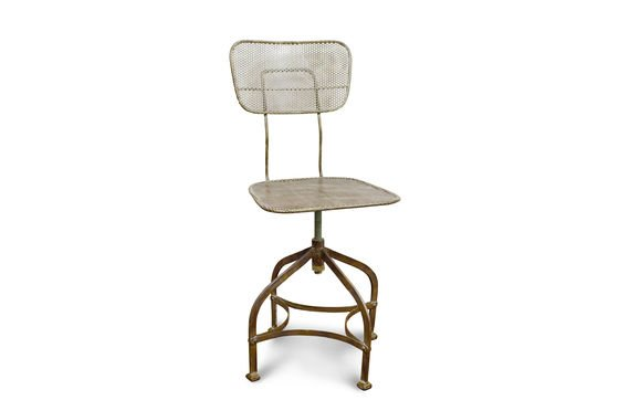 Industrial perforated sheet chair Clipped
