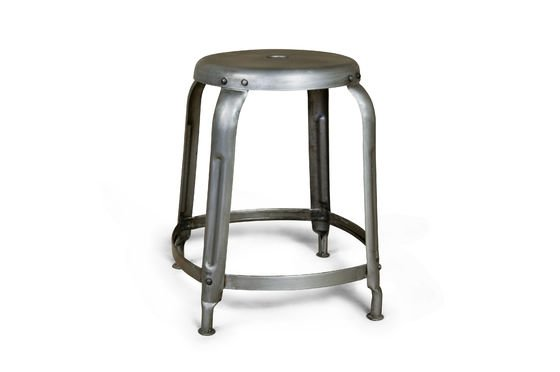 Industrial riveted stool Clipped