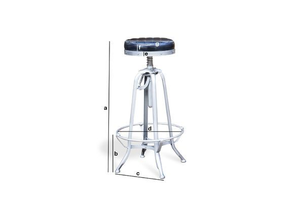 Product Dimensions Industrial stool Illinois