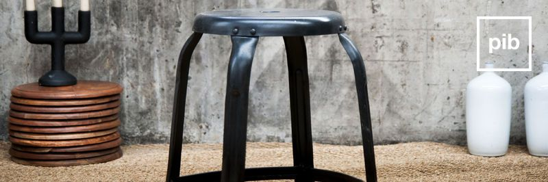 Industrial stools back soon in collection