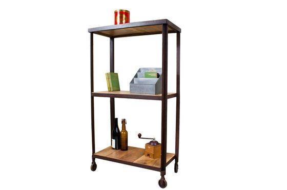 Industrial three-shelf unit Clipped