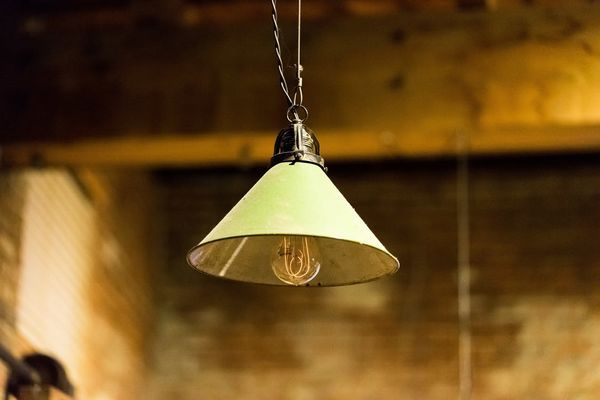 Industrial vintage lighting