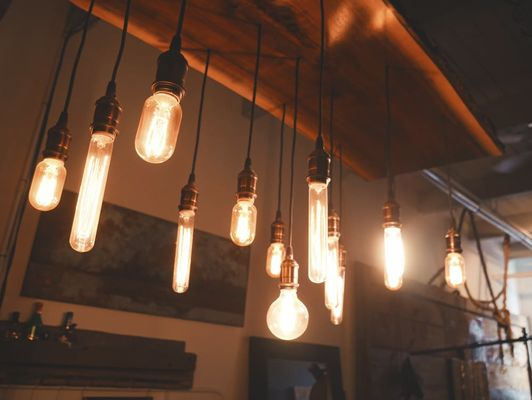 industrial hanging lamps for industrial setting