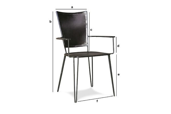 Product Dimensions Italia Armchair