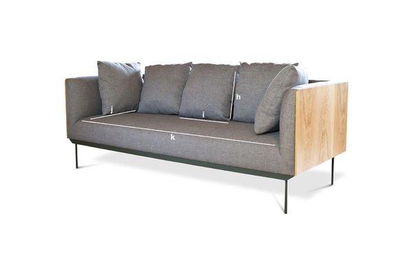 Product Dimensions Jackson Sofa