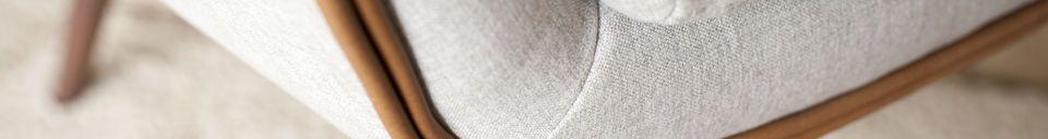 Material Details Järvi Fabric armchair