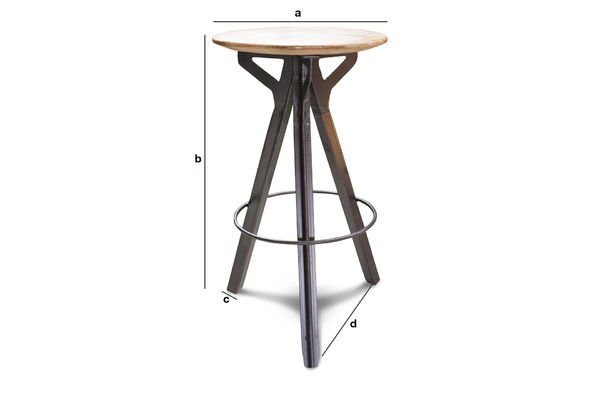 Product Dimensions Jetson barstool