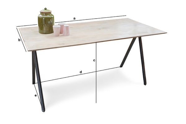 Product Dimensions Jetson table