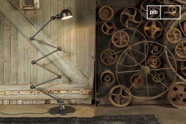 Jieldé Loft hammered lamp