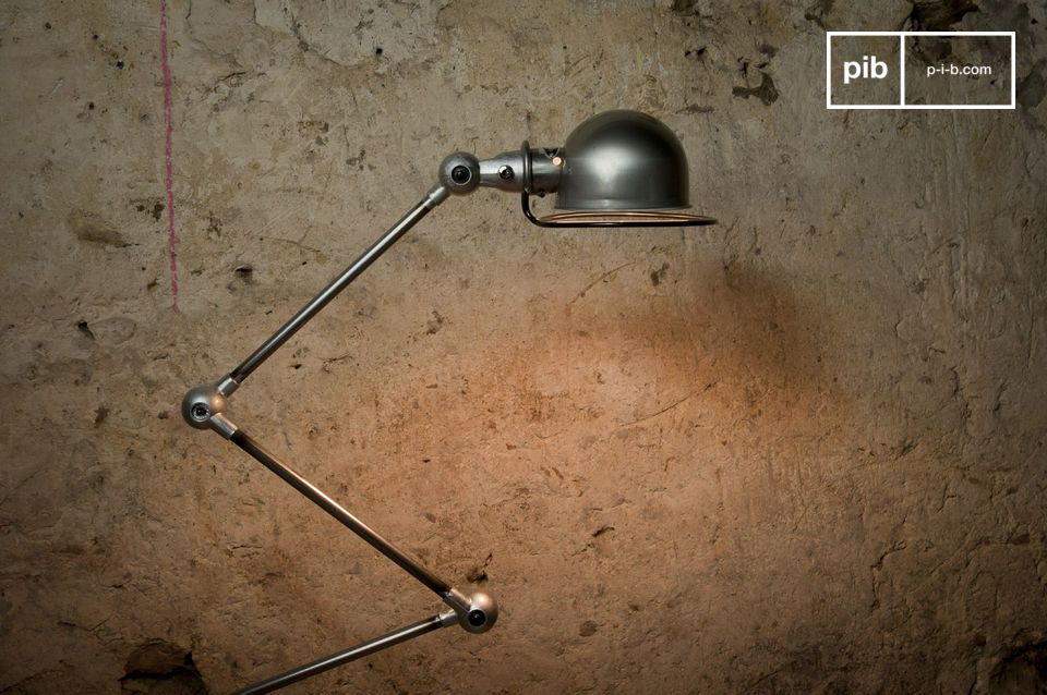 Light your interior with this mythical lamp, which is almost a piece of industrial sculpture