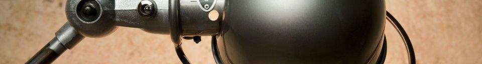 Material Details Jieldé Loft lamp