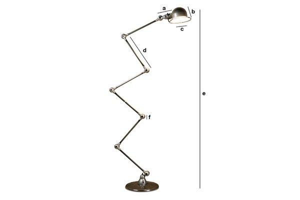 Product Dimensions Jieldé Loft lamp