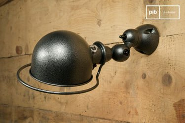 Jieldé Loft wall lamp hammered finish