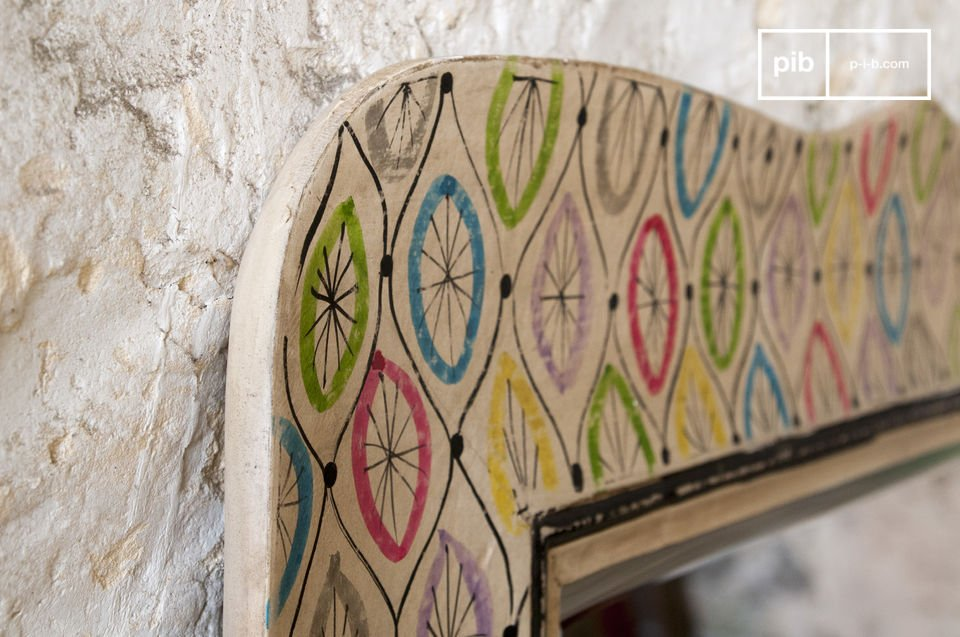 A large colorful item that fits with Bohemian countryside decoration