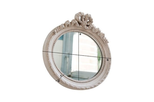 Product Dimensions Justine mirror