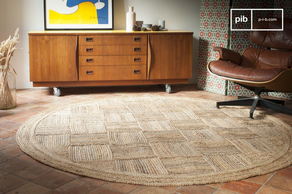 Jute Round Williams Rug