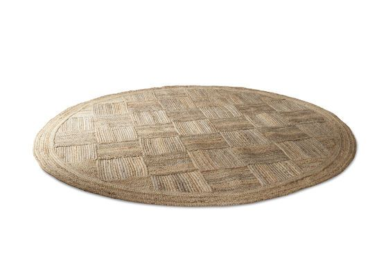 Jute Round Williams Rug Clipped
