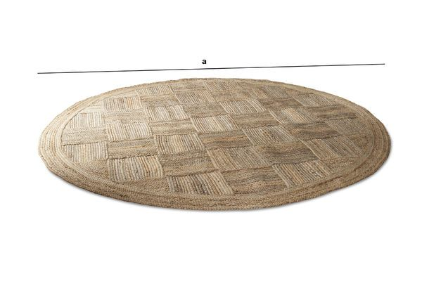 Product Dimensions Jute Round Williams Rug
