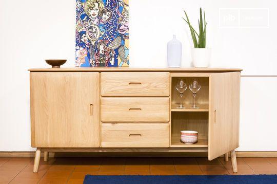 Kadrell oak Sideboard