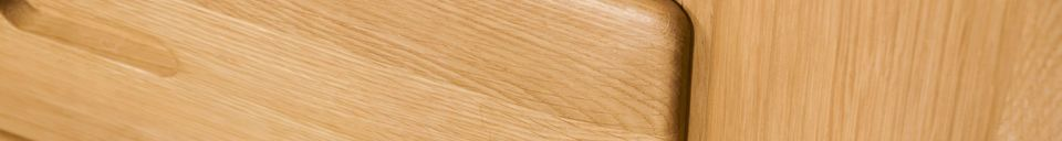 Material Details Kadrell oak Sideboard