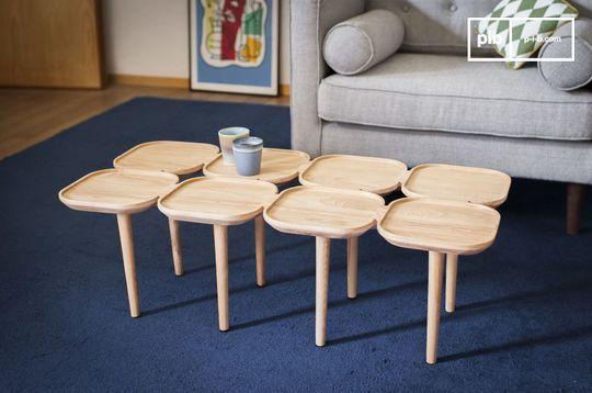 Kädri wooden coffee table