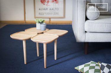 Kädri wooden side table