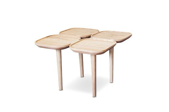 Kädri wooden side table Clipped