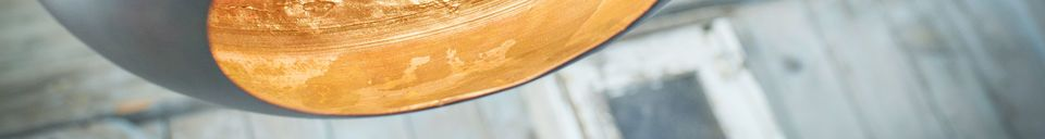 Material Details Kalixte hanging ogival lamp