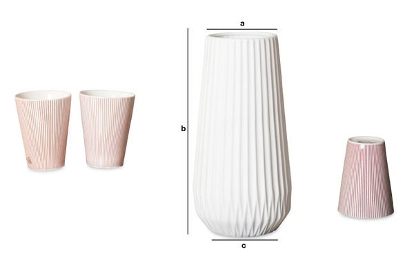 Product Dimensions Kamila Vase