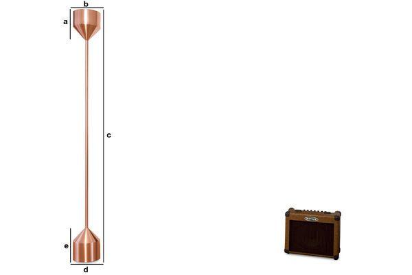 Product Dimensions Käsipa floor lamp