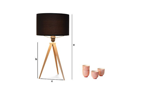 Product Dimensions Kavinskï table lamp