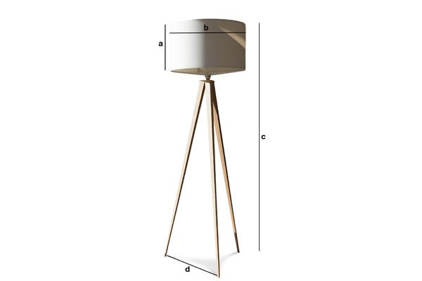 kavinsky tripod lamp finesse and elegance pib. Black Bedroom Furniture Sets. Home Design Ideas