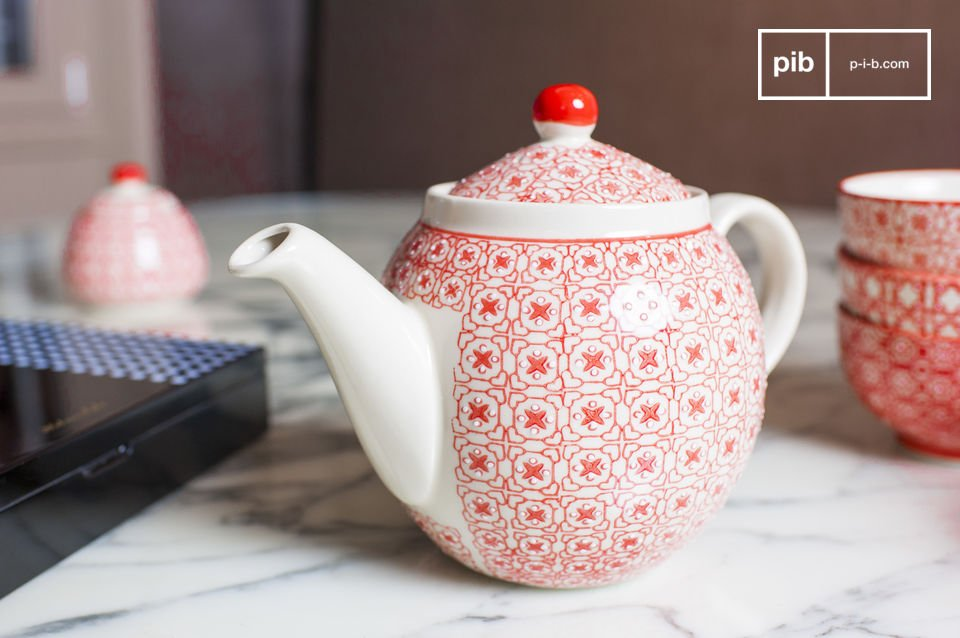 The Kennedy tea pot is a very practical table ware that will add charm to your tea set