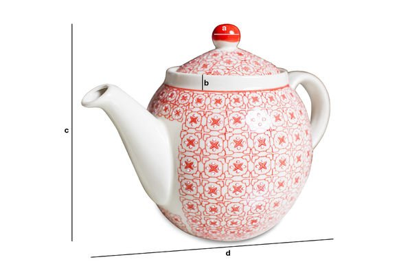 Product Dimensions Kennedy Tea pot