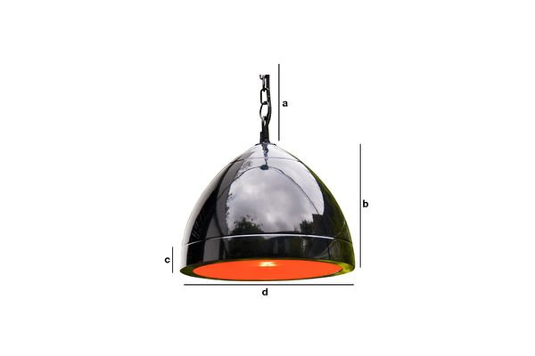 Product Dimensions Këpsta black hanging light